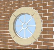 Circular 140mm - Window Surround image
