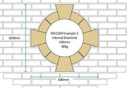 Circular 100mm (Keystone) - Window Surround image