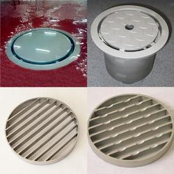 The standard Gully Drain Cover is a smooth flat top, which is bead blasted (GC1). All Covers can fit round and square top Gullies.  7 options of Gully Cover are available....