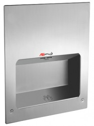 TURBO-TUFF RECESSED MOUNTED HAND DRYER 0134 image