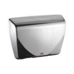 Profile™ Steel Cover Hand Dryers – Bright Stainless Steel image