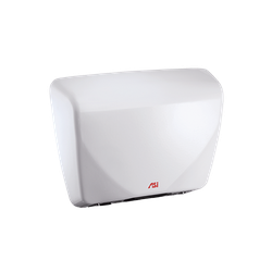 ROVAL™ Cast Iron Hand Dryers – White image