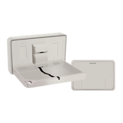 Baby Changing Station, HORIZONTAL – PLASTIC, Surface Mounted image