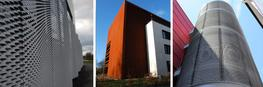 A highly versatile cladding giving a very cost effective solution from the way the material expands during the manufacturing process. Available in a variety of colours and aperture dimensions this cladding can be fixed in either orientation and at angles to gi...