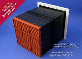 TAL9H&M Rytons 9x9 Acoustic AirLiner - Rytons Building Products Ltd
