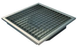 200x200mm L15 Grate Only for Tiles with Clamping Frame image