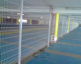 Pro-play Roll Top Mesh Panel Fencing - Procter Bros Ltd