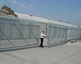 Palisade fence panel is the most popular choice for locations requiring a higher level of security and vandal resistance, and can be seen protecting premises of many different types throughout the UK.  Steel palisade fencing is especially popular for schools...