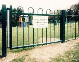Playground Fencing, Gates and Railings image
