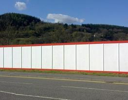 Temporary Hoardings for All Commercial Applications - Procter Bros Ltd