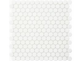 Jasba Loop Arctic White Circular Mosaic image