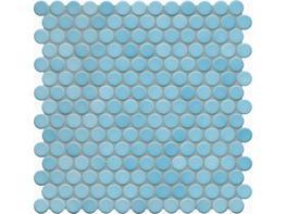 Jasba Loop Aqua Circular Mosaic image