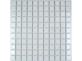 Glazed Ceramic Gloss White Mosaic image