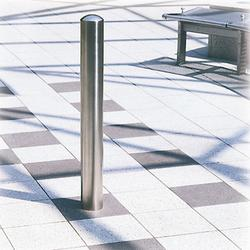 CHICHESTER Stainless Steel Anti-ram Bollards are manufactured in a brushed Stainless Steel outer case with a steel galvanised core in both semi-domed and mitre cap styles, combining style with strength.  Easily installed Sub-surface fixing Choice of two diamet...