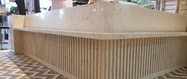 Caesarstone White Attica quartz worktops Westgate Shopping Mall image