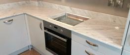 Bianco Carrara Extra marble worktops Oxford image