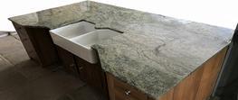 Kashmir Lime granite worktops image