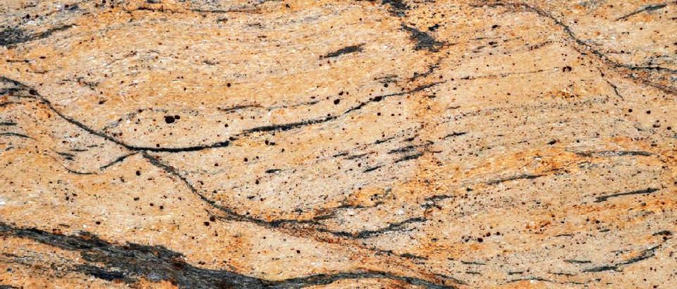 Prada Gold Granite by MKW Surfaces