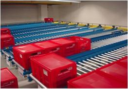 Gravity Roller Conveyors are considered the most economic and cost saving solution to many materials handling needs. The rollers have low friction and are free running to allow goods to be moved without the intervention of powered drives. They suit most flat b...