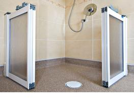 Create an easy access, user friendly wetroom quickly and simply by installing a ShowerDec wetroom floor former. 11 NEW SIZES OF SHOWERDEC  NOW INSTOCK!   Creates a complete level access wetroom shower area concealed beneath the vinyl or tiled flooring once ins...