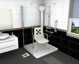 Tern Rotating Shower Tray image