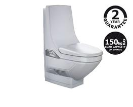 Geberit AquaClean 8000plus Care is the ultimate solution for independence in the bathroom. Combining the convenience of a warm water wash, and warm air-dryer alongside other enhancing features including an opto-remote and reinforced seat, Geberit AquaClean 800...