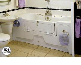 Adjustable Height Assistive Bath image