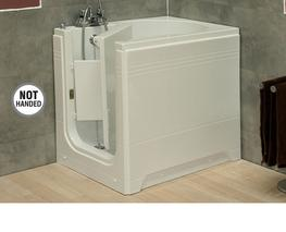 Compact, deep soaker walk in baths are available with a left or right handed door position offering an easy access, walk in bathing solution. The integrated seat also ensures a comfortable upright position for the bather. When you should consider a compact dee...
