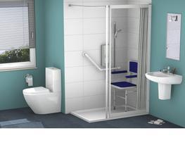 Shower Doors Fixed Panels - Contour Showers Ltd