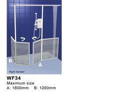 Front Access Showers Doors with Return Panel - Contour Showers Ltd