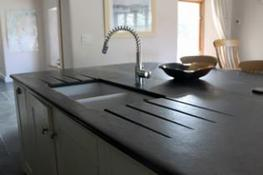 SLATE WORKTOPS, KITCHEN WORK SURFACES AND SINK SURROUNDS image