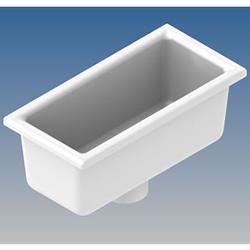 800136 | Ceramic sink outlet 63mm image