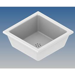 Part Code : 800137           Ceramic sink outlet 63mm           Manufactured in White fireclay.     European specification free draining where no plug is supplied.     To be installed with a bonded waste adaptor Part No: A636-063015                     ...