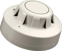 55000-325USA - SERIES 65A PHOTOELECTRIC SMOKE DETECTOR WITH FLASHING LED AND MAGNETIC TEST image