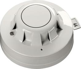 The XP95 Optical Smoke detector uses an internal pulsing infrared LED and a photo-diode at an obtuse angle. In clear air conditions the photo-diode in the XP95 detector receives no light from the LED and produces a corresponding analogue signal. The signal inc...