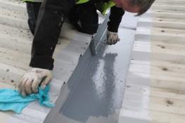 Rooflock Gutter Coating System - Rooflock