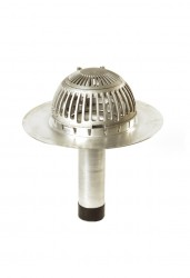Fastflow Sealed Titan Hercules Roof Aluminium Outlet - Rooflock