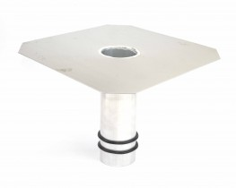 Fastflow Aluminium Rainwater Outlets for Flat Roofing - Rooflock