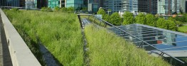 GravelLock - interlocking green roof retention trim image