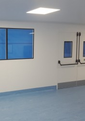 Fire Rated Cleanroom Modular Walls/Partitions M65 | UK Manufactured - Commercial Interiors, Laboratories, Cleanrooms, Advanced Manufacturing image
