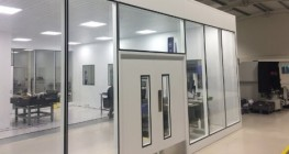 Fire Rated Cleanroom Modular Glazing M65 | UK Manufactured - Commercial Interiors, Laboratories, Cleanrooms, Advanced Manufacturing image