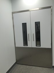 Non-fire Rated Steel Door Sets | UK Manufactured - Commercial Interiors, Laboratories, Cleanrooms, Advanced Manufacturing image