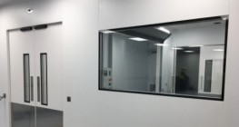 Non-Fire Rated Cleanroom Modular Walls/Partitions M100 | UK Manufactured - Commercial Interiors, Laboratories, Cleanrooms, Advanced Manufacturing image