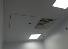 Ceiling System M-WOC Composite Walk-On | UK Manufactured - Commercial Interiors, Laboratories, Cleanrooms, Advanced Manufacturing - MIDDAS