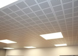 Ceiling System MCT Metal Pan Suspended - MIDDAS