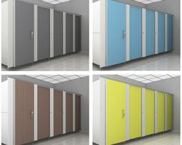 Contractor MFC Toilet Cubicles Packs (WCContractor) image