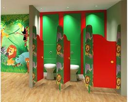 Play Time - MFC Small Children s Toilet Cubicles (WCPTMFC) image