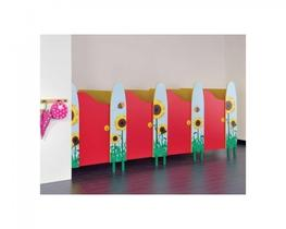 Play Time - MFC Small Children s Toilet Cubicles (WCPTMFC) - Commercial Washrooms Ltd