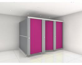 Ultra Fast Delivery Replacement SGL Toilet Cubicle Doors (CD2) image
