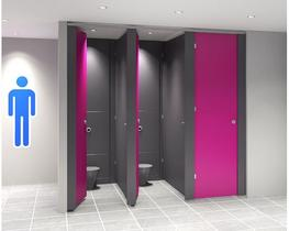 Stature SGL Full Height Toilet Cubicles (Wet Area & High Abuse Range) (WCStature) image